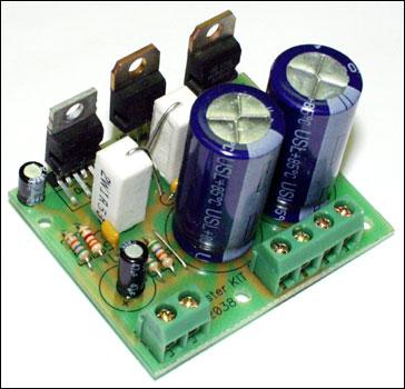 NM2038 - Усилитель НЧ 44 Вт (TDA2030A+BD907/908, Hi-Fi)