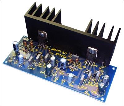 NS175 - Усилитель НЧ 2х18 Вт (TDA 2030)